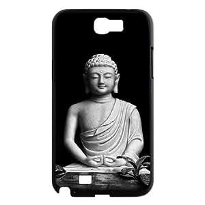 wugdiy Brand New Phone Case for Samsung Galaxy Note 2 N7100 with diy Buddha