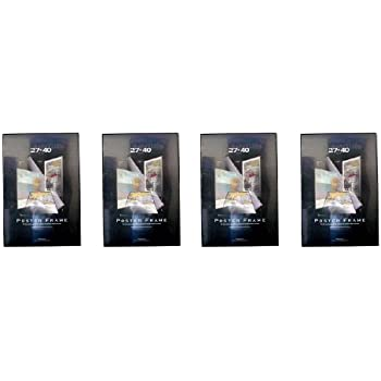 4 four 27x40 poster frames 27 inch x 40 inch value pack