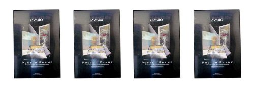 amazoncom 4 four 27x40 poster frames 27 inch x 40 inch value pack movie poster frames