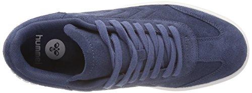 Low Classic Indigo Zapatillas Aarhus Mujer Vintage Hummel para Azul q4ZRFwFxp