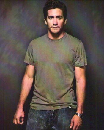 ブロマイド写真★ジェイク・ギレンホール/緑のTシャツの商品画像