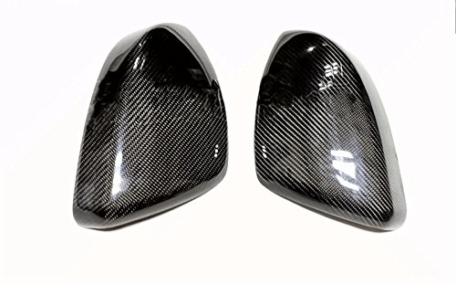 Eppar New Carbon Fiber Mirror Covers 2PCS for Jaguar F-Pace 2015-2017 by Eppar