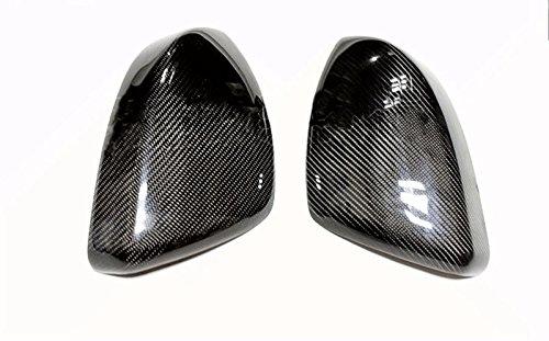 Eppar New Carbon Fiber Mirror Covers 2PCS for Jaguar F-Pace 2015-2017 by Eppar