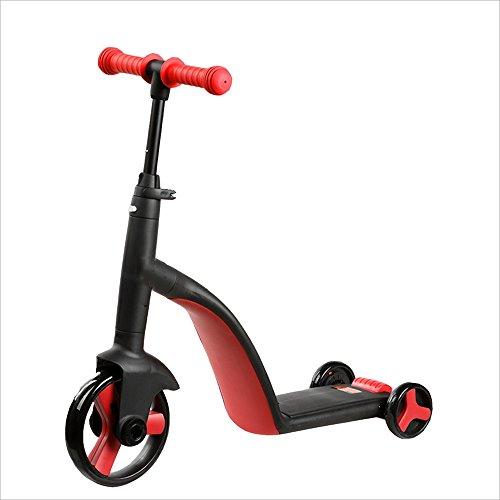 NAN Trois-en-un Yo-voiture à trois roues pour enfants 2-6-year-old Scooters pour enfants multifonctions une conversion clé ( Couleur : 2 )