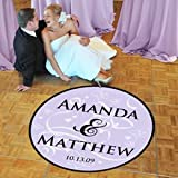 Butterfly Wedding Dance Floor Decal