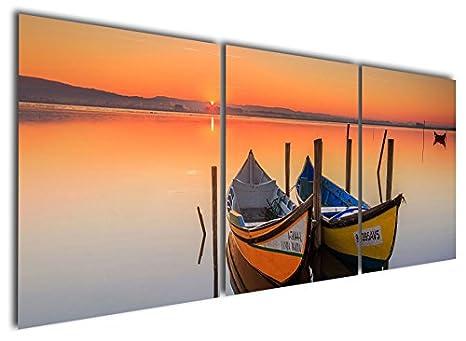 Boats Paintings Art