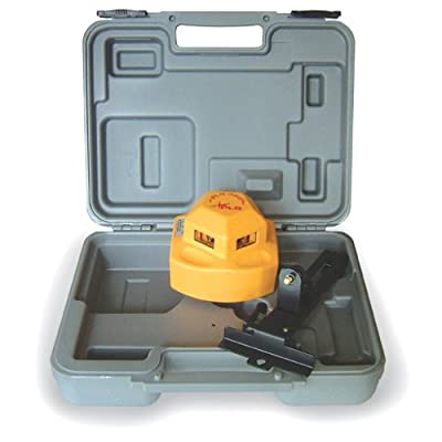 PLS Laser PLS-60526 PLS360 360 Degree Laser Level Tool, Yellow