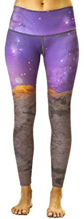 Teeki - Designer Activewear - Space Love Hot Pant - Small