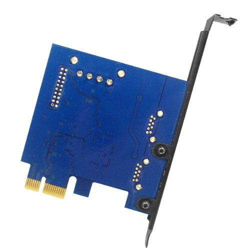 Anker® Uspeed PCI-E to USB 3.0 2 Port Express Card, with 1 USB 3.0 20-pin Connector and 5V 4 Pin Male Power Connector by Anker (Image #4)