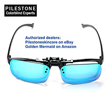 e950a6a69b3c Pilestone Clip-on TP-018 Color Blind Corrective Glasses for Color Blindness  (Color