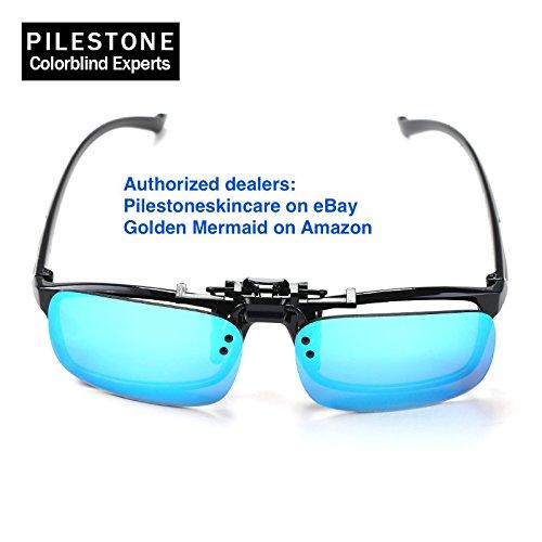 e950a6a69b3c Pilestone Clip-on TP-018 Color Blind Corrective Glasses for Color Blindness  (Color
