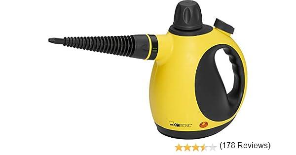 Clatronic DR 3653 Limpiador al vapor compacto de mano, 9 ...