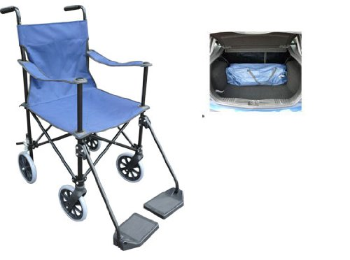 ultra compact lightweight folding wheelchair 921 easy to use