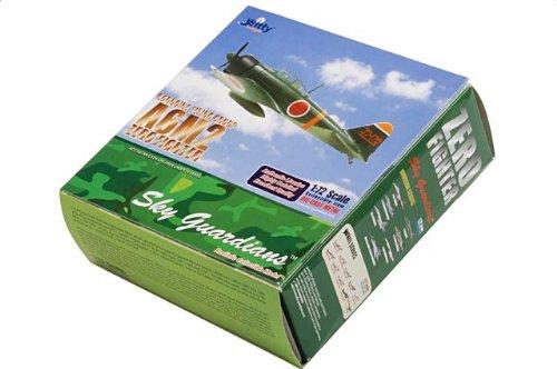 1:72 Witty Sky Guardians (シリーズ 1) WTW72012-06 三菱 A6M2 ゼロ戦 ダイキャスト モデル IJNAS Kohnike フライング Group【並行輸入品
