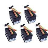 5 Pack Ink Key Motor for Heidelberg SM102 SM52 SM74 Harris M1000 Servo Motor