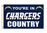Fremont Die NFL Los Angeles Chargers 3-by-5 Foot In Country Flag