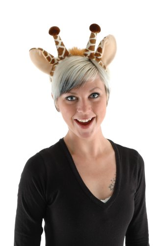 Giraffe Ears Headband and Tail Kit by elope