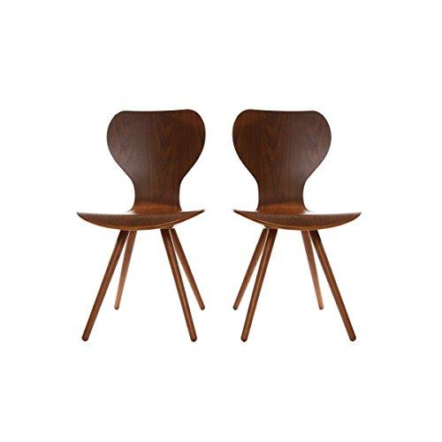 Miliboo Nordeco Scandinavian Chair - Set of 2