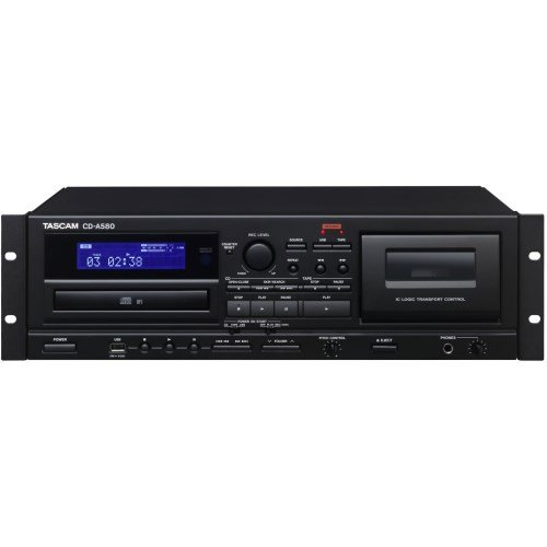- TASCAM For business Cassette recorder / CD player / USB memory recorder