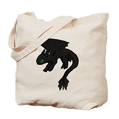 CafePress–Drachen–Leinwand Natur Tasche, Reinigungstuch Einkaufstasche