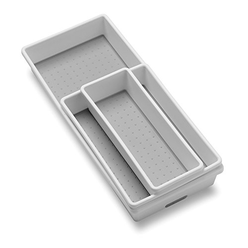 Madesmart 3 Tray Pack, White by Made Smart
