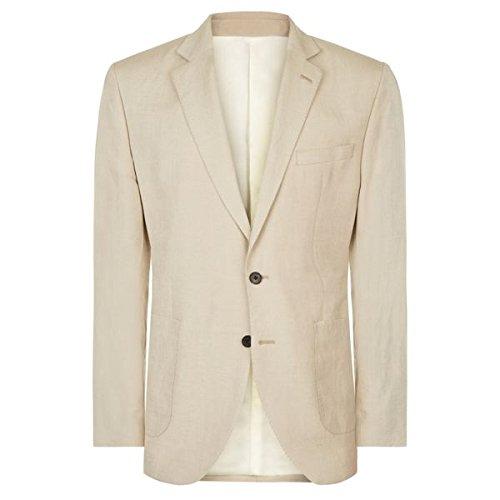 [イエーガー] メンズ ジャケット&ブルゾン Regular Silk Linen Jacket [並行輸入品] B07F33G27N 46 Regular
