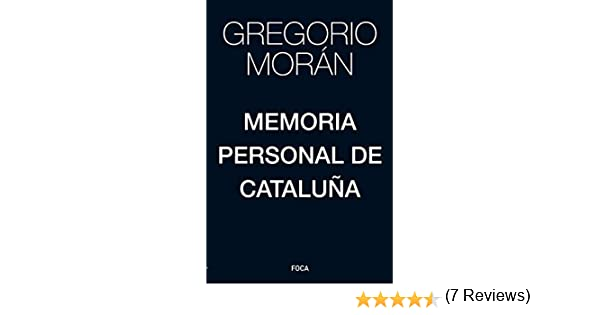 Memoria personal de Cataluña: 171 (Investigación): Amazon.es ...