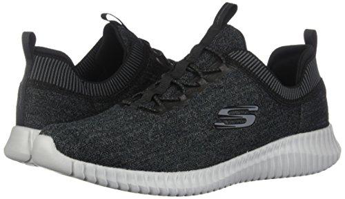 Skechers Sport Men's Elite Flex-Hartnell Fashion Sneaker,Black/Gray,8.5 M US