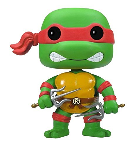 Funko POP Television TMNT Raphael Vinyl Figure (Teenage Mutant Ninja Turtles Raphael Love Story)
