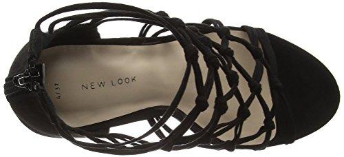 New Look React - Tacones Mujer Negro - Black (01/Black)
