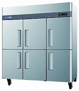 6 half door Refrigerator, Reach-in, three-section, 72 cu. ft.