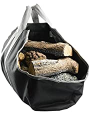 Stanbroil Heavy Duty Canvas Firewood Carrier & Log Tote, Log Holder, Best for Carrying Wood