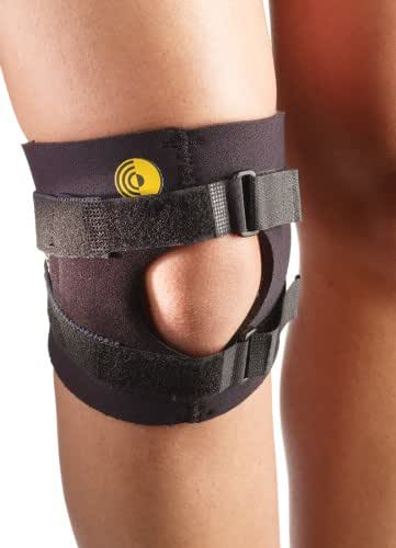 Corflex Knee-O-Trakker Runners Knee Brace for Running Pain-L - Black