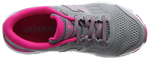 New Balance Kj680v5y, Zapatillas de Running Unisex Niños Gris (Steel)