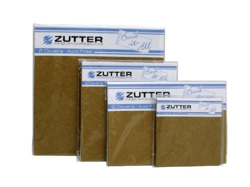 Zutter 2731 Chipboard Cover, 6 by 6-Inch, White Pack of (Chipboard Covers)