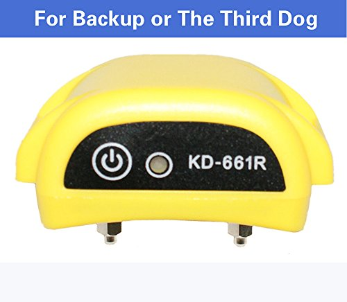 Outdoor Pet Supplies Electronic Dog Yard 100 Levels Portable Wireless Dog Fence System with Shock Rechargeable and Waterproof Training Collar for Dog Cat Small Animal