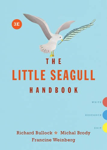The Little Seagull Handbook (Third Edition) cover