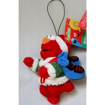 Amazon.com: Elmo Christmas Ornament with FREE ...