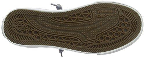 Dockers 38ay602-790660 - Zapatillas de Deporte Unisex Niños Azul (Navy 660)