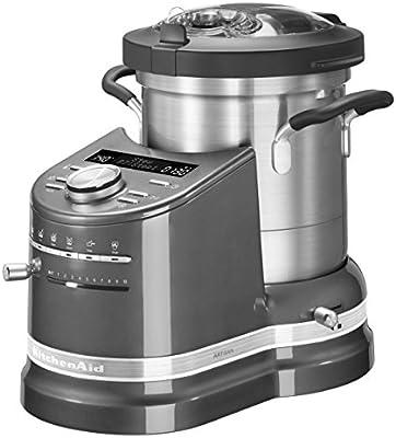 Kitchenaid Cook Processor - Robot de cocina, 1500 W, color plateado: Amazon.es: Hogar