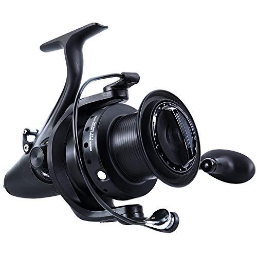 Sougayilang Spinning Fishing Reel 12+1BB Metal Body Smooth Carp Spinning Reels for Saltwater Freshwater Fishing-BE9000