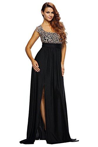 Damen Gold Kleid Allsorts14 Cocktail Damen Allsorts14 qE8xnCZR