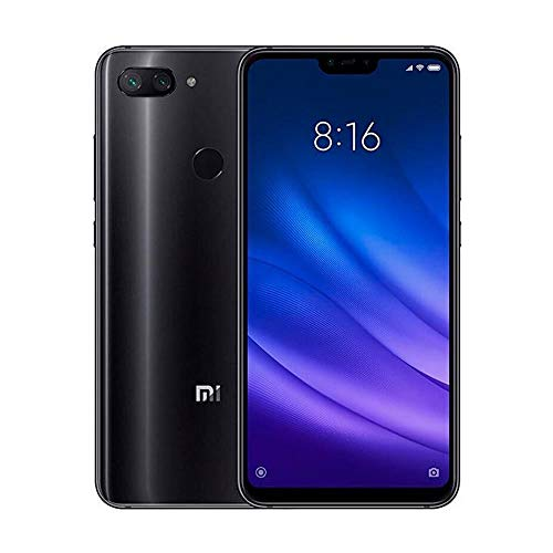 "Celular Xiaomi Mi 8 Lite Global Dual 128GB de 6.26"" 12+5MP / 24MP - Preto"