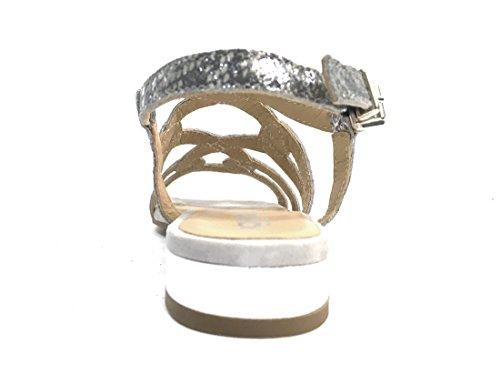 donna sandalo NERO Igi 7831 amp;co in Scarpa ARGENTO pelle Italy made wq7OPxtRaH