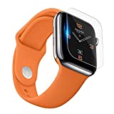 MALLOOM for Apple Watch Series 4, 40mm/44mm HD Full Coverage TPU Screen Protector Film