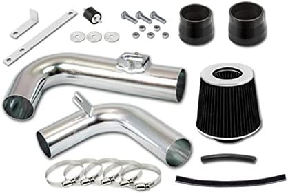 S /& T Racing Black Cold Air Intake Kit Filter for Chevrolet Cruze 11-15 1.4L Turbo