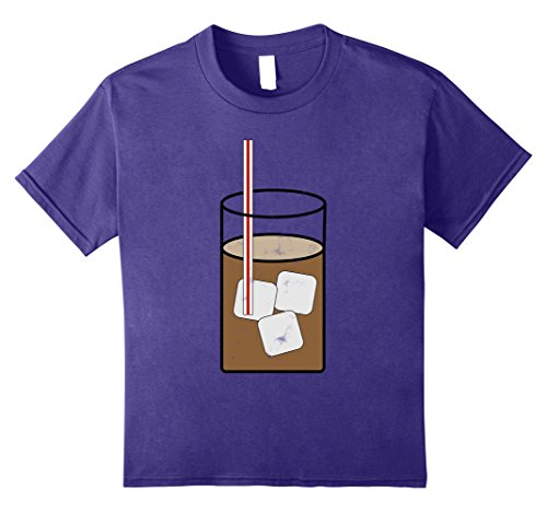 Ice Cream Sundae Adult Costumes (Kids Sweet Tea Y'all Southern Halloween Costume Outfit T Shirt 10 Purple)