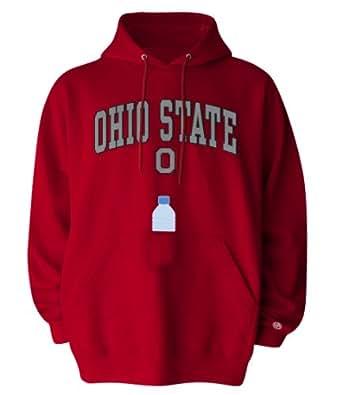 NCAA Ohio State Buckeyes SIPS Hooded Sweat Shirt, Red, Medium