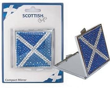 Amazon com: Scottish Gifts - Scottish Jeweled Compact Mirror