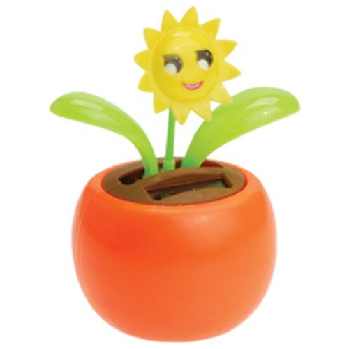 SOLAR DANCING SMILEY SUNFLOWER, Sold By Case Pack Of 21 Pieces by DollarItemDirect